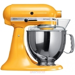 МИКСЕР KITCHENAID 5KSM150PS ЖЕЛТЫЙ ПЕРЕЦ